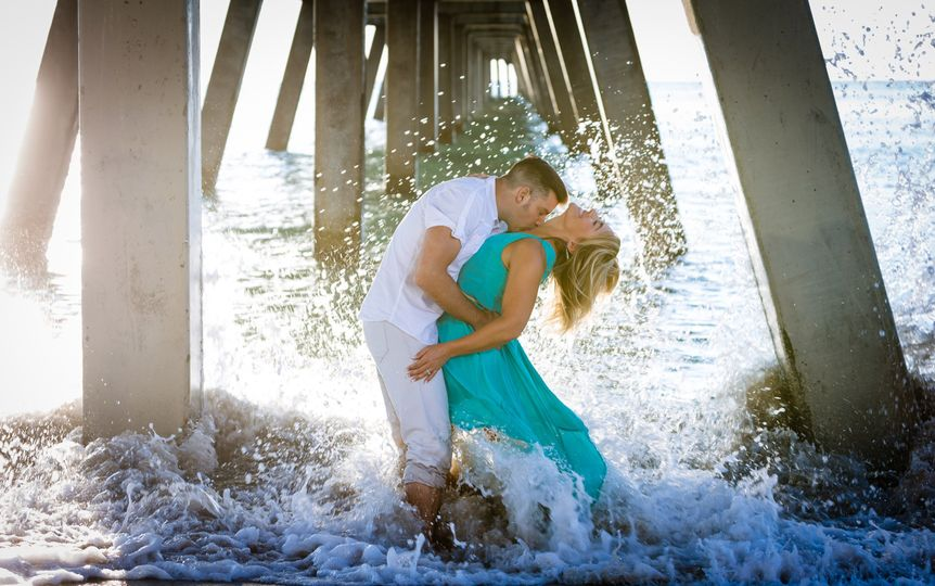 Engagement session in Deerfield Beach Florida