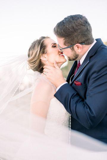 Bride and Groom in Tahoe