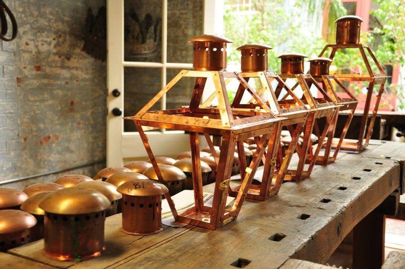 Handcrafted lanterns
