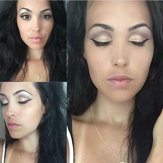 Eyebrows and eyelashes are gorgeous
