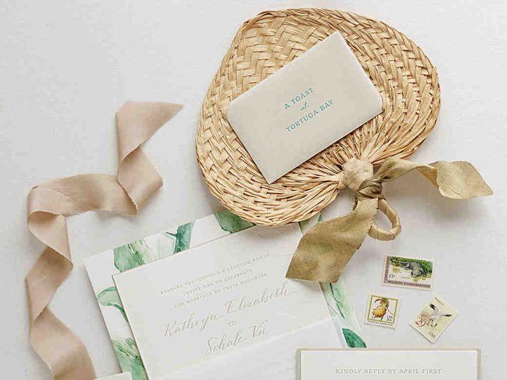 Tmx Elizabeth Sohale Wedding Dominican Republic Invitation Suite 3aadc493 0918 Vert 51 45692 1561564925 Plano, TX wedding invitation