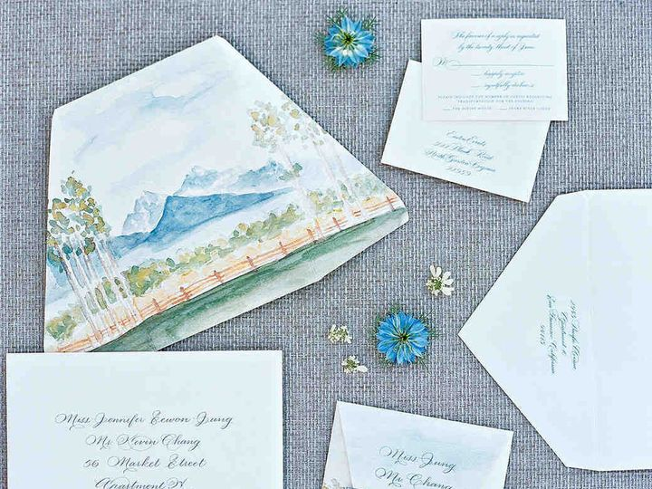 Tmx Mckenzie Paul Wedding Wyoming Stationery 103171980 Vert 51 45692 1561564932 Plano, TX wedding invitation