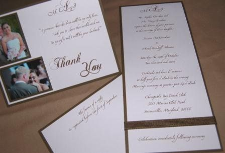 Tmx 1237301271374 WedwirePhoto6 Easton wedding invitation
