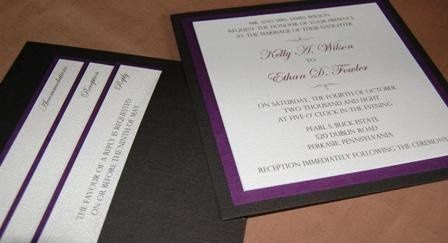 Tmx 1237301427859 WedwirePhoto8 Easton wedding invitation