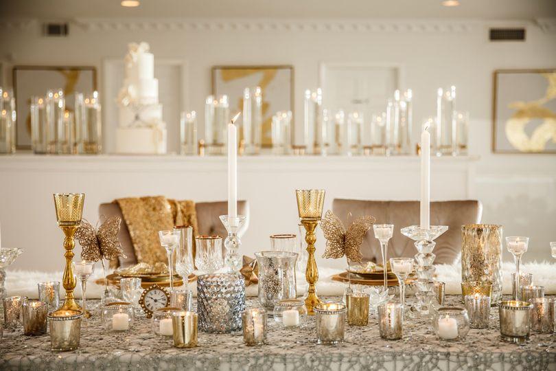 Luxurious table setup