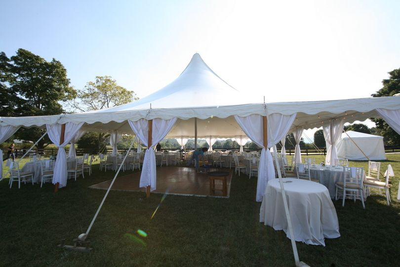 800x800 1477060487099 40x40 century with white gathered sidepole drapes; 800x800 1477060640097 tidewater tent ... & FDS Tents - Event Rentals - Charlottesville VA - WeddingWire