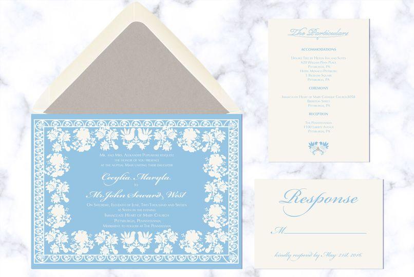polish wedding invitations