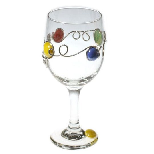 Your friends will love to join you for a glass of red or white with these special glasses! Sized...