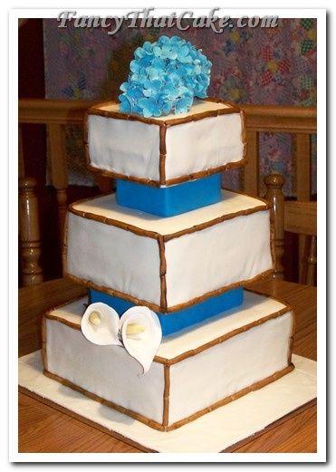 Tmx 1378764831791 Bridal Shower Cake Bamboo Flowers 3 Jackson, MO wedding cake