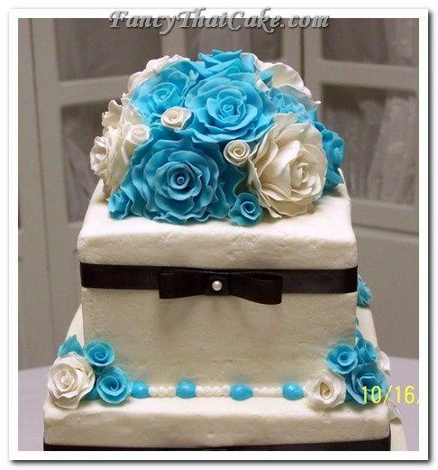 Tmx 1378765167236 Roses N Ribbons02 Jackson, MO wedding cake