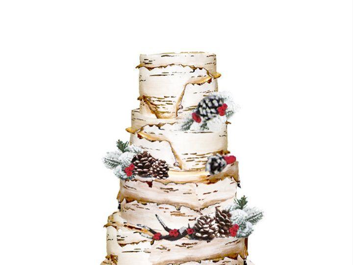 Tmx 1453782768656 Gavin  Jillians Wedding Cake Jackson, MO wedding cake
