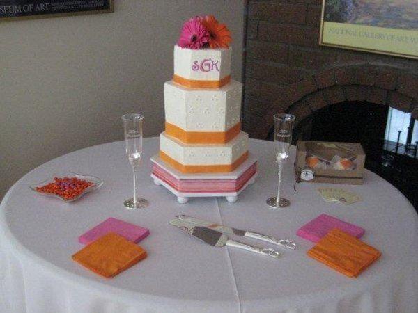Tmx 1238637715675 Mybeautifulweddingcaketable Whittier wedding planner
