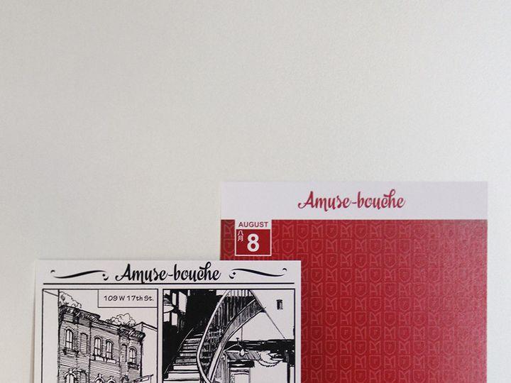 Tmx 1416245717298 Amuse Bouche Woodside wedding invitation