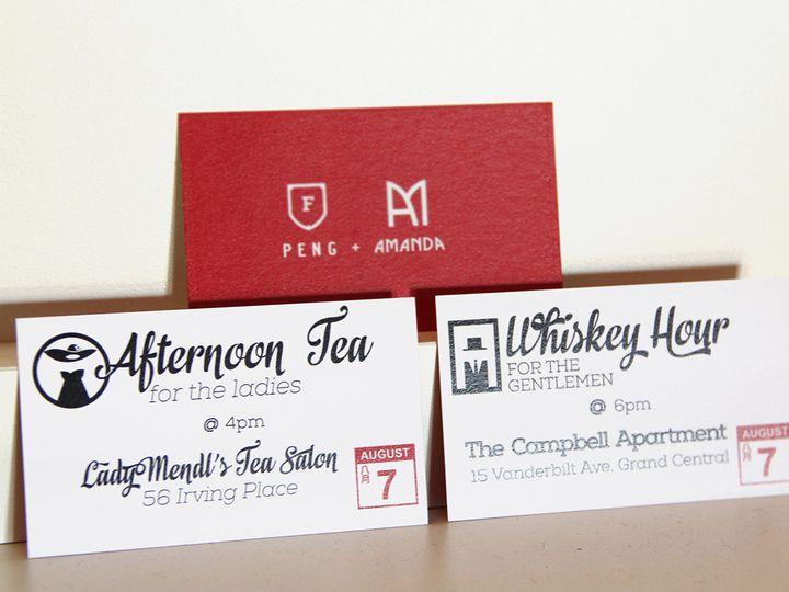 Tmx 1416245755244 Tea Whiskey Woodside wedding invitation