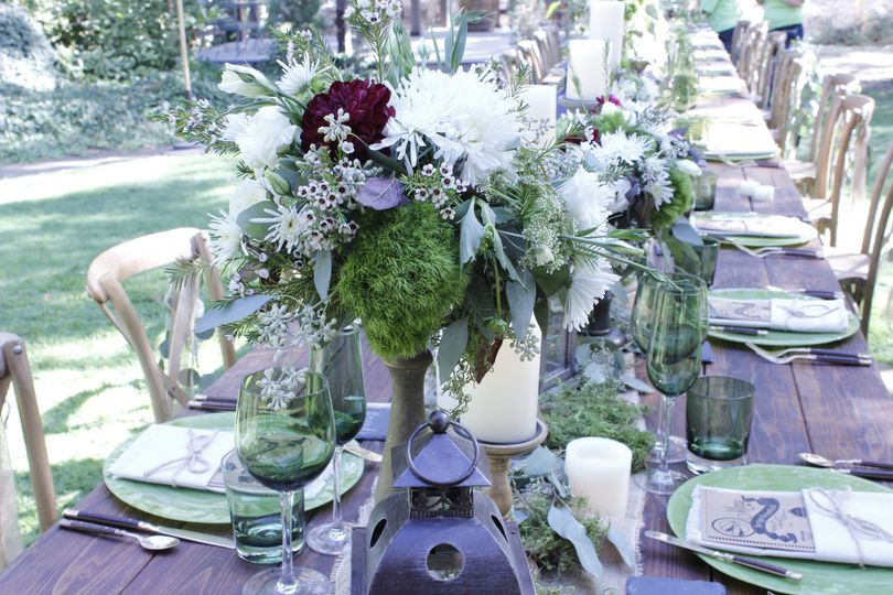 Lavender tables