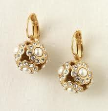 Pearl Bouquet Earrings