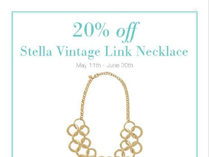 Tmx 1306124795569 ESSENCEMAGAZINEFEATURESSTELLAVINTAGENECKLACE Miami wedding jewelry