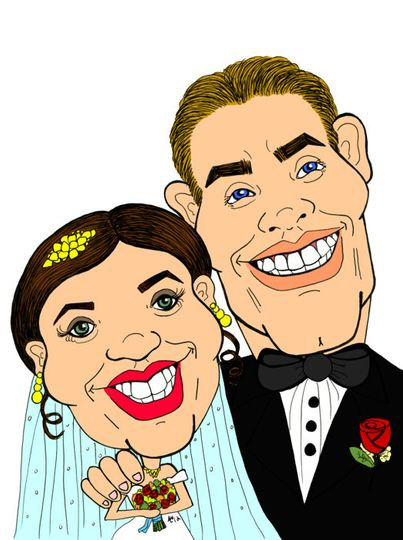 weddingcaricature
