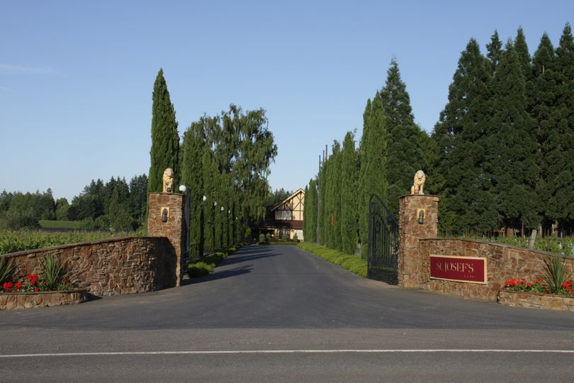 St Josef's Winery entrance