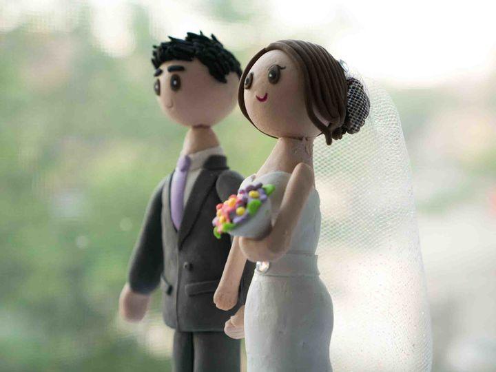 Tmx 1500486954032 20170517 19 41 47 Cake Topper   Optimized Small Rego Park wedding cake