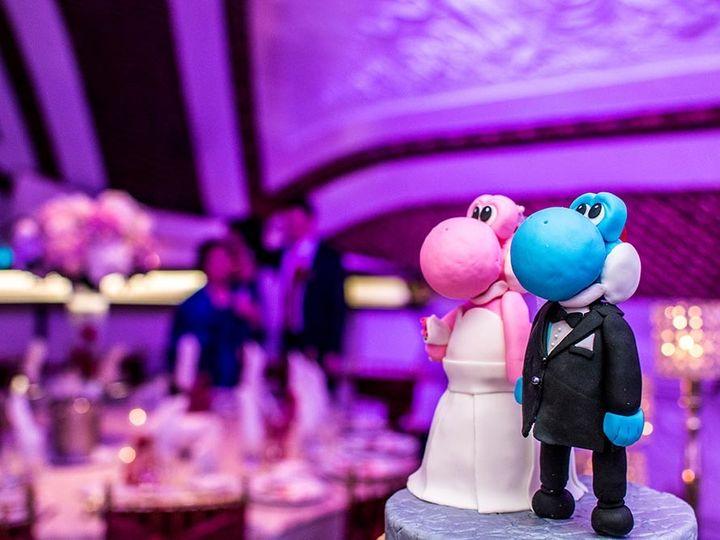 Tmx 1500486972857 Yoshi 1 Rego Park wedding cake