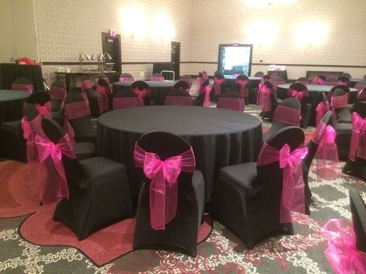 elegant wedding chair covers event rentals portland or