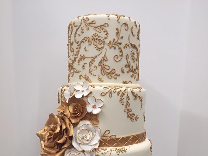 Tmx D8 51 13792 Sacramento, CA wedding cake