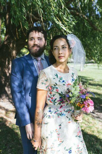 Happy couple Sara Faraj©