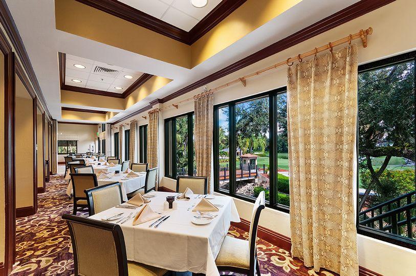 Dinning room windows