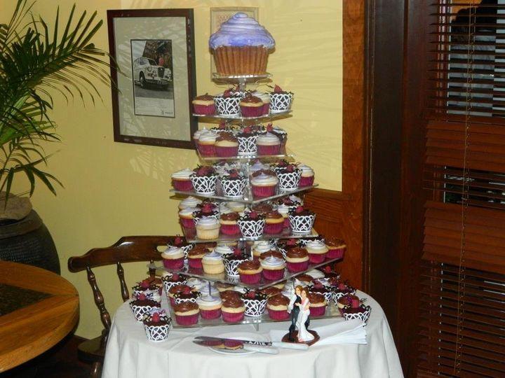 Tmx 1342639486081 Cupcaketower Kingston wedding cake