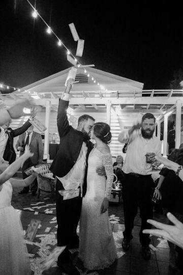 Wedding money dance