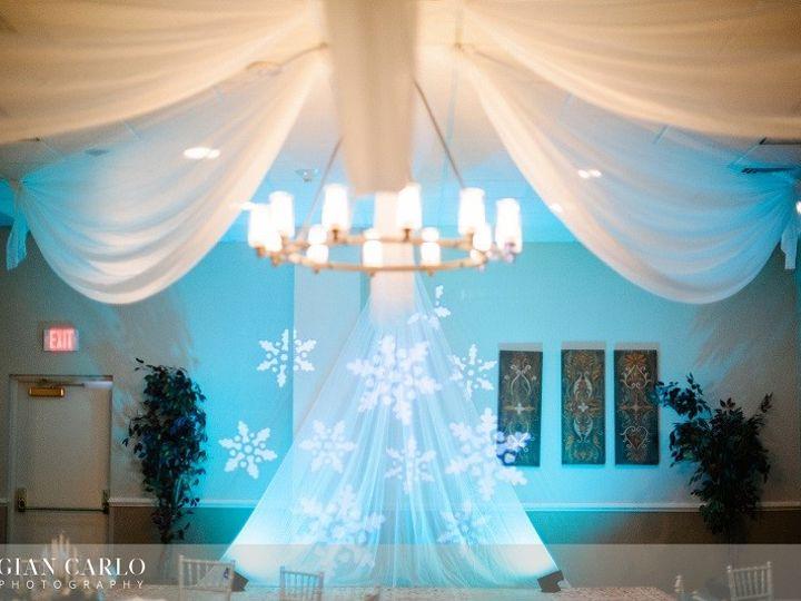 Tmx 1378930425689 Teal Uplighting With Blue Snowflake Lights Apopka, FL wedding dj