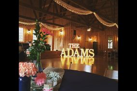 Marquee House of Letters | 3ft marquee letter rental
