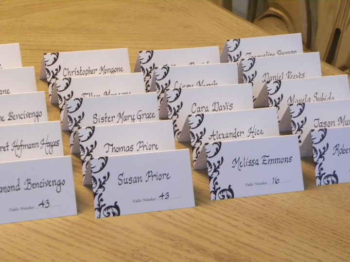 Tmx 1471193487295 Place Cards Perkasie wedding invitation
