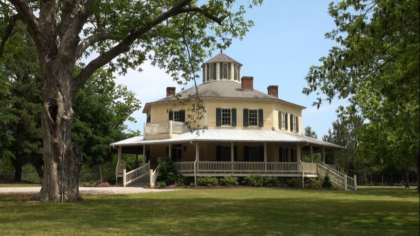 The gorgeous Octagon House Wedding Venue