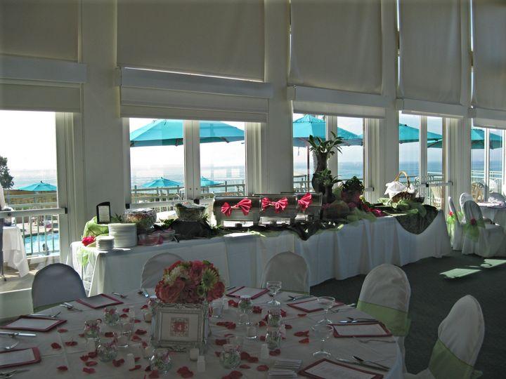 Marina Village romantic reception