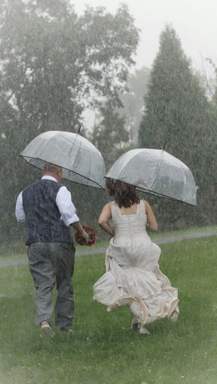 Don't be afraid of the rain!