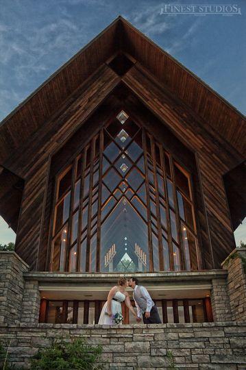 Kissing at the Chapel