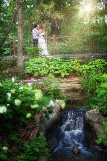 Kissing in the Garden