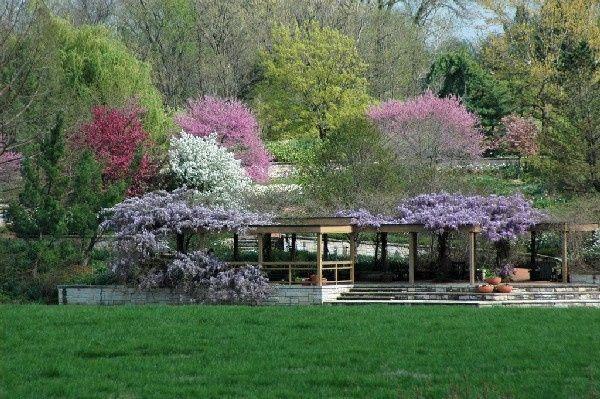 Spring Perennial Garden Arbor