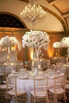 Raised centerpieces