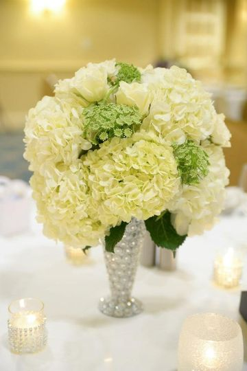 Table design by Events by Jackie M.  Flowers by Forget Me Not Florist.  Photography by Dani Fine...