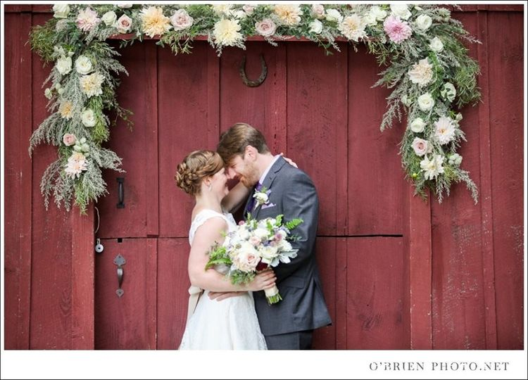 Gorgeous ceremony & reception on private property in CT.  Photo courtesy of O'Brien Photo