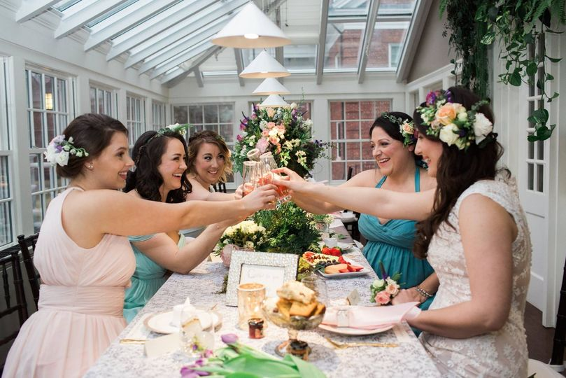 Bridal Tea in the GardenStyle & Design concept by Events by Jackie M.  Photography by Brooke Ellen...