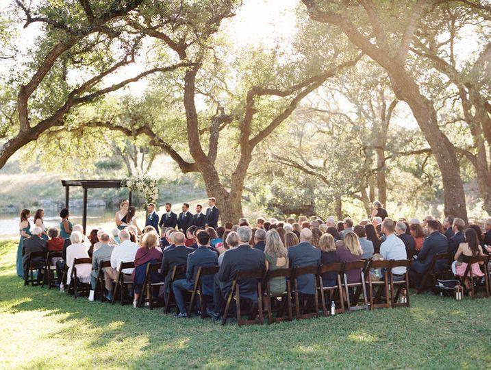 Addison grove ceremony