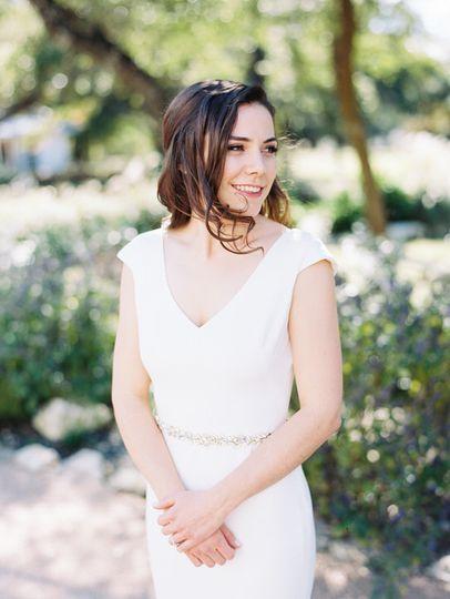 Austin wedding bride