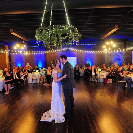 First dance in Regal Hall