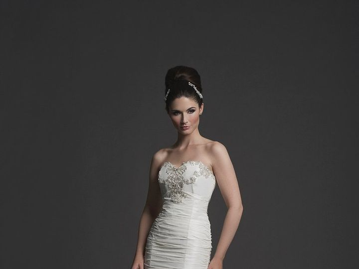 Tmx 1351880287126 KaterinaBocci20131886Cropped Utica, MI wedding dress