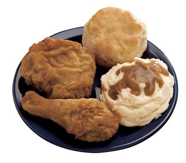 Double battered chicken