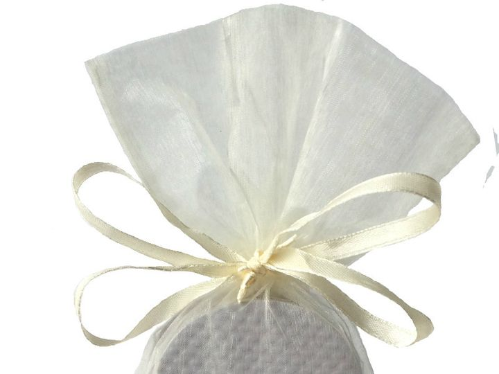 Tmx 1447096253706 Guest Reception Flip Flop Classic White Ivory Orga Brooklyn wedding favor